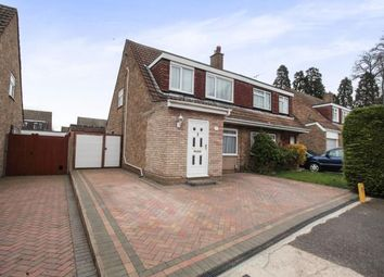 Thumbnail 3 bedroom semi-detached house for sale in Nightingale Close, Luton, Bedfordshire, Putteridge