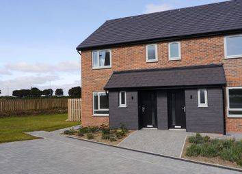 Thumbnail 3 bedroom semi-detached house for sale in Red House Gardens, Netherton Lane, Bedlington