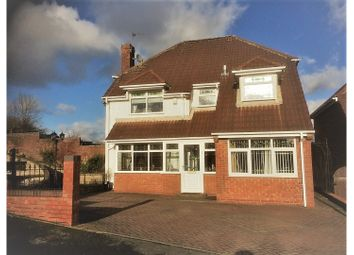 Thumbnail 4 bed detached house for sale in Longsdon Close, Newcastle