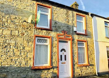 Thumbnail 2 bed terraced house to rent in Nightingale Street, Abercanaid, Merthyr Tydfil