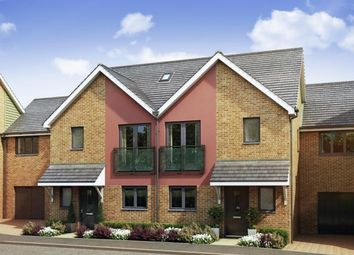 Thumbnail 4 bed semi-detached house for sale in xxx At Springhead Park, Wingfield Bank, Northfleet, Gravesend