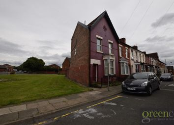 Thumbnail 3 bed terraced house to rent in Rickman Street, Kirkdale, Liverpool