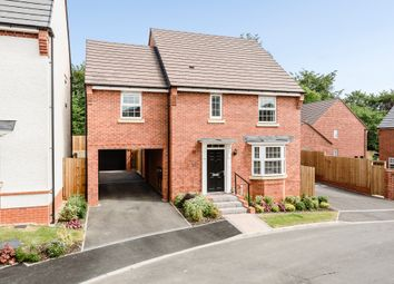 Thumbnail 4 bed detached house for sale in Cottams Meadow, Morda, Oswestry Shropshire