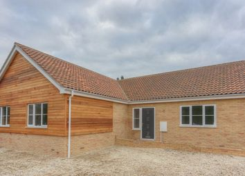 Thumbnail 4 bed detached bungalow for sale in Fieldside, Stretham, Ely