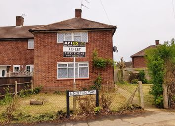 Thumbnail 3 bedroom end terrace house to rent in Knolton Way, Slough