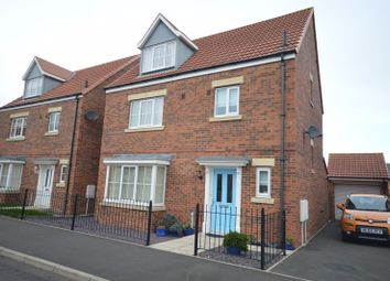 Thumbnail 4 bed detached house for sale in Ilderton Crescent, Seaton Delaval, Whitley Bay