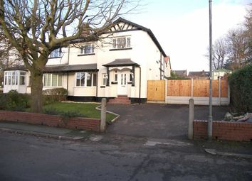 Thumbnail 3 bed semi-detached house to rent in Bland Road, Prestwich, Prestwich Manchester