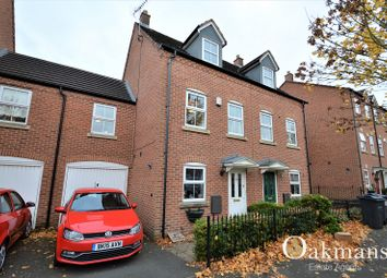 Thumbnail 4 bed town house for sale in Ratcliffe Avenue, Birmingham, West Midlands.
