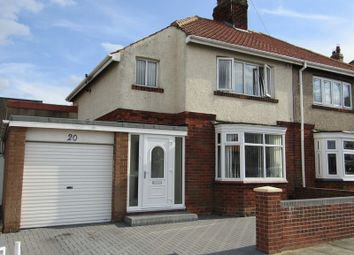 Thumbnail 3 bed semi-detached house for sale in South Drive, Hartlepool