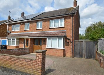 Thumbnail 3 bedroom semi-detached house to rent in Lichfield Avenue, Peterborough