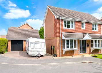 Thumbnail 3 bed detached house for sale in Ison Close, Cranwell Village, Sleaford