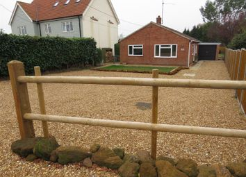 Thumbnail 3 bed detached bungalow for sale in Pansey Drive, Dersingham, King's Lynn