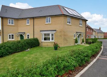 Thumbnail 3 bed semi-detached house for sale in Burns Way, Thaxted, Dunmow