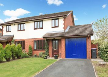 Thumbnail 3 bed semi-detached house for sale in Marsh Meadow Close, Telford