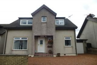 Thumbnail 3 bed detached house for sale in Mill Road, Riggend, Airdrie, North Lanarkshire