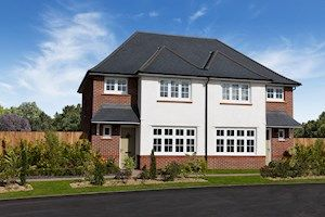 Thumbnail 3 bed semi-detached house for sale in Rowley Grange, Throne Road, Rowley Regis, West Midlands