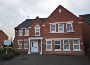 Thumbnail 5 bedroom detached house to rent in Nettleton Close, Heatherton Village, Littleover