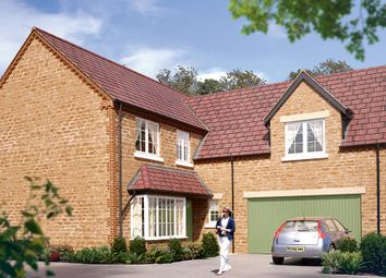 "Thumbnail 5 bed detached house for sale in ""The Langham"" at Boughton Road, Moulton, Northampton"
