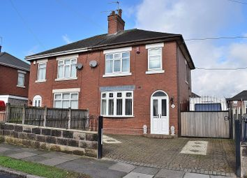 Thumbnail 3 bed semi-detached house for sale in Forest Road, Meir, Stoke On Trent.