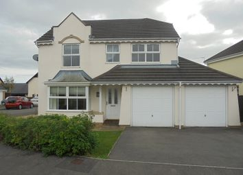 Thumbnail 4 bed detached house to rent in Maes Trawscoed, Bridgend, Bridgend.