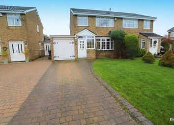 Thumbnail 3 bed semi-detached house for sale in Millford Way, Bowburn, Durham