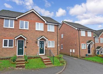 Thumbnail 2 bed semi-detached house for sale in Approach Road, Shepherdswell, Dover, Kent