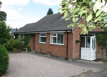 Thumbnail 2 bed detached bungalow to rent in Station Road, Market Bosworth