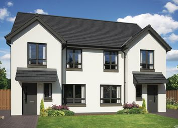 Thumbnail 3 bed semi-detached house for sale in Milligan Drive, Edinburgh