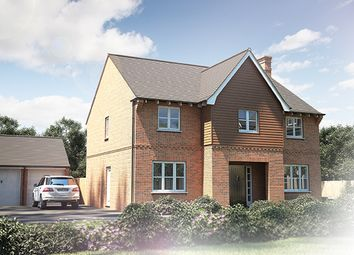 "Thumbnail 5 bed detached house for sale in ""The Sandham"" at Tile Barn Row, Woolton Hill, Newbury"