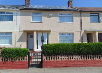 Thumbnail 3 bed terraced house to rent in Jarrett Road, Northwood, Kirkby