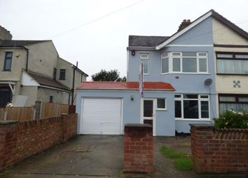 Thumbnail 3 bed semi-detached house for sale in Waverley Road, Rainham