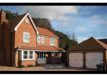 Thumbnail 4 bed detached house to rent in Lichfield Road, Hopwas, Nr Tamworth