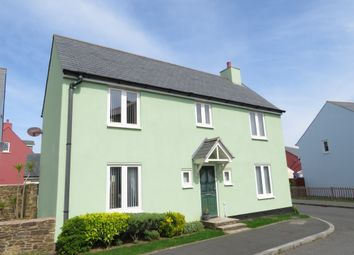 Thumbnail 4 bed detached house for sale in Greenhill Road, Plymstock, Plymouth