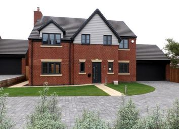 Thumbnail 4 bed detached house for sale in Willows Lane, Atherstone, Warwickshire