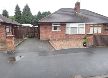 Thumbnail 2 bed semi-detached bungalow for sale in Spencer Avenue, Thurmaston, Leicester