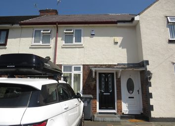 Thumbnail 2 bed terraced house to rent in Forwood Road, Bromborough, Wirral