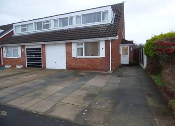 Thumbnail 3 bed semi-detached house for sale in Wicks Green, Formby, Merseyside, England