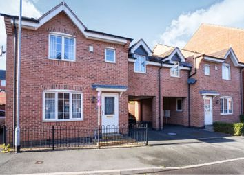 Thumbnail 4 bed semi-detached house for sale in Barker Round Way, Burton-On-Trent