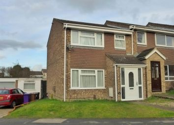 Thumbnail 3 bedroom end terrace house for sale in Burns Road, Royston