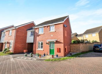 Thumbnail 3 bedroom link-detached house for sale in Jacksnipe Close, Stowmarket
