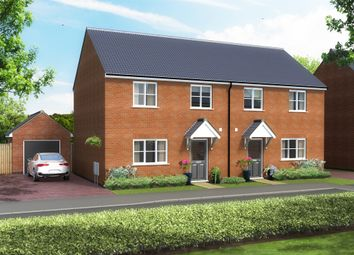 Thumbnail 2 bed semi-detached house for sale in Saville Road, Blaby, Leicester