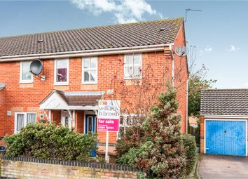 Thumbnail 2 bed end terrace house for sale in Leabrook Close, Bury St. Edmunds