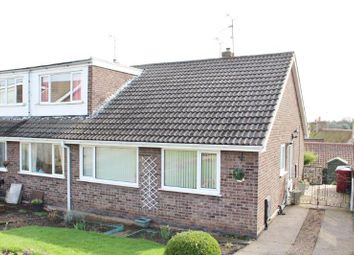 Thumbnail 3 bed semi-detached bungalow for sale in Deansgate, Pleasley, Mansfield