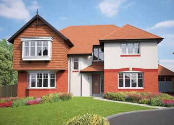 Thumbnail 4 bedroom detached house for sale in Kingswood Manor, Woolton, Liverpool