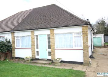Thumbnail 1 bed semi-detached bungalow for sale in Hale Drive, Mill Hill, London