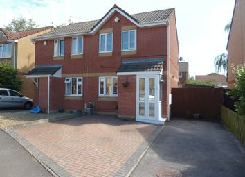 Thumbnail 2 bed semi-detached house for sale in Blackberry Drive, Barry
