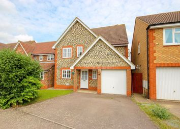 Thumbnail 4 bed detached house for sale in Fuchsia Way, Rushden, Northamptonshire