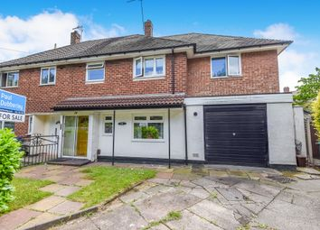Thumbnail 4 bed semi-detached house for sale in Poplar Road, Wednesbury