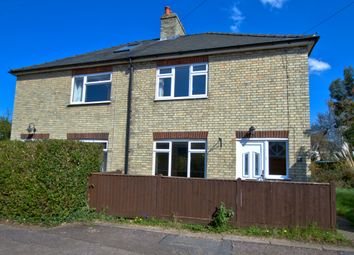 Thumbnail 2 bed semi-detached house to rent in Burnt Close, Grantchester, Cambridge