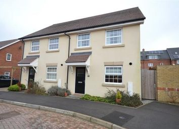 Thumbnail 2 bedroom semi-detached house for sale in Cook Avenue, Church Crookham, Fleet